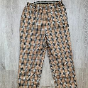 Vintage Burberry Jogger Pants